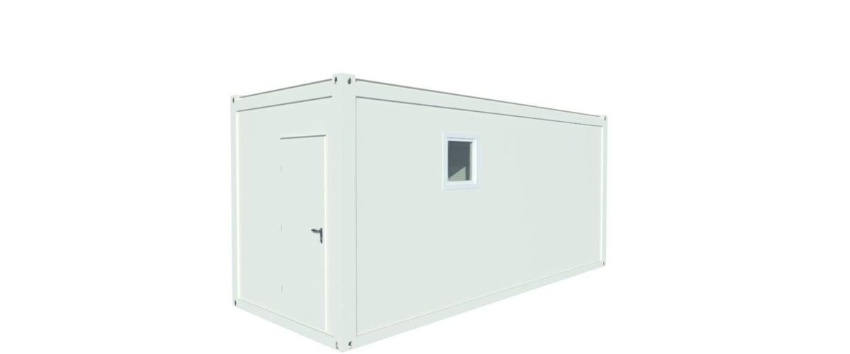20ft WC Container Algeco
